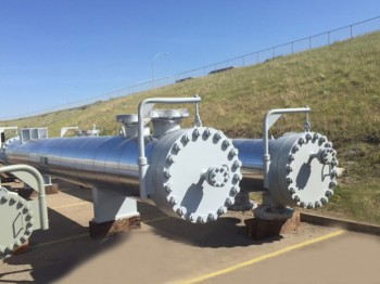 Gas to Gas exchangers for liquid recovery oil field application