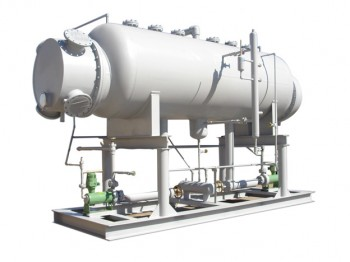 Low Charge Shell-Tube Falling Film Spray Evaporator – ZSC Series