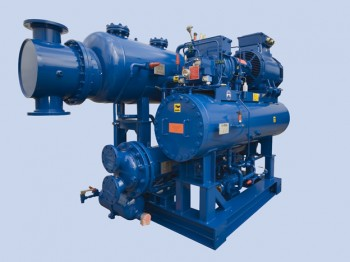 Low Charge Shell-Tube Spray Chiller ZSC Series and Condenser ZC Series Package
