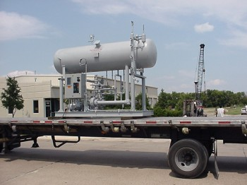 Recirculator package for Ammonia application
