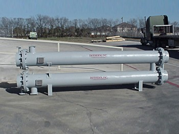 Shell-Tube heat recovery exchangers ZEX Series